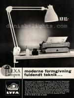 Unspecified designer for Lyfa: Flexa-lampen 1