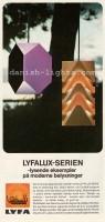 Ole Panton, Louis Weisdorf for Lyfa: Seks-tre-pendel, Ekko 1