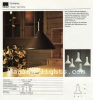 Vagn Dyring for Solar (Nordisk Solar Compagni): Unilamp pendant