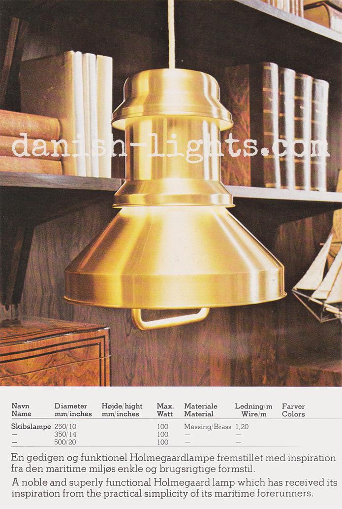 Sidse Werner for Holmegaard: Skibslampe