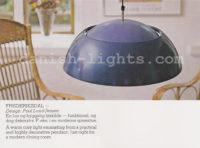 Poul Lund-Jensen for Holmegaard: Frederiksdal pendant light 1
