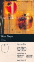 Per Lütken for Holmegaard: Glass Plaque wall light 4